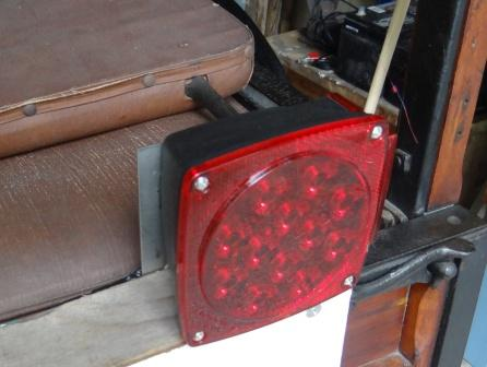 I Have A 12 Volt Battery That I Use When Crank Starting So It Was Easy To  Add 12 Volt LED Trailer Lights From Harbor Freight And A Simple Switch  Assembly ...
