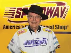 """Speedy"" Bill Smith crosses the Finish Line"