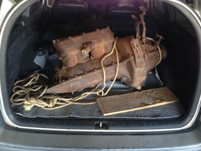 In trunk