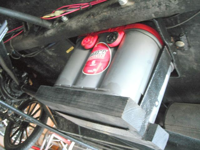 Model T Ford Forum: Battery Box/frame in a 1916 Touring