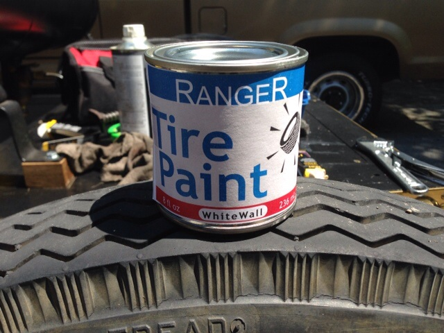 White Tire Paint >> Model T Ford Forum Whitewall Tire Paint