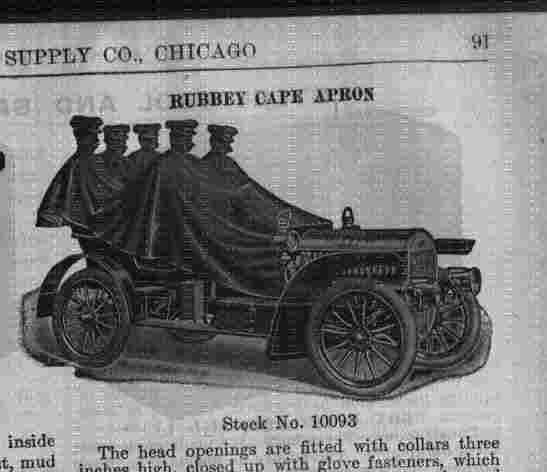 rubber apron