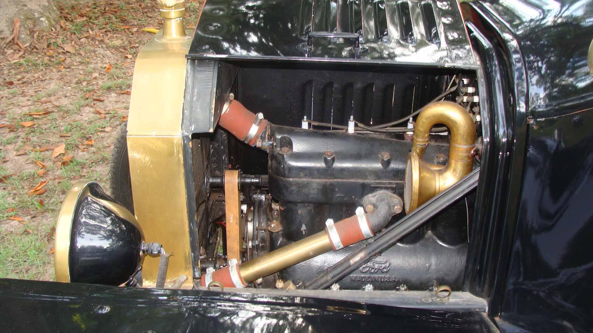Left Side of Motor