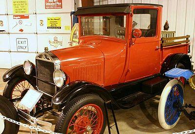 Fake Model T pickup