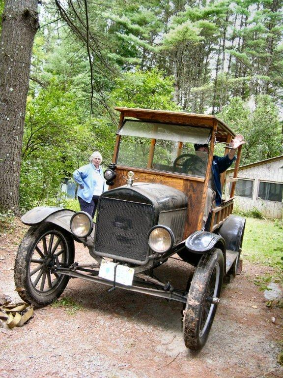 1917 Model T Ford barn find