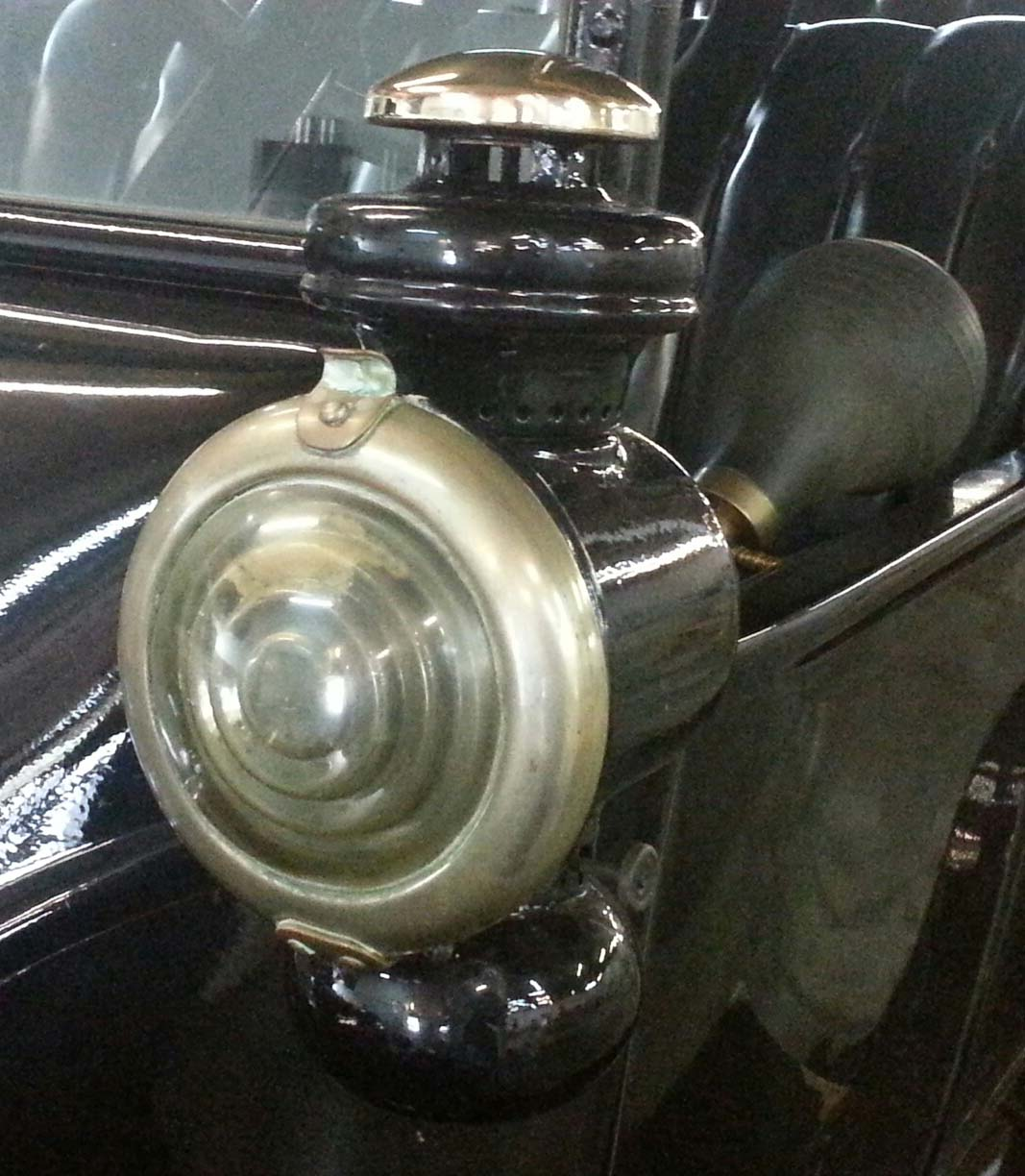 Oil Lamp other side