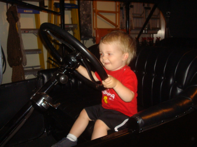 grandson's driving lessons