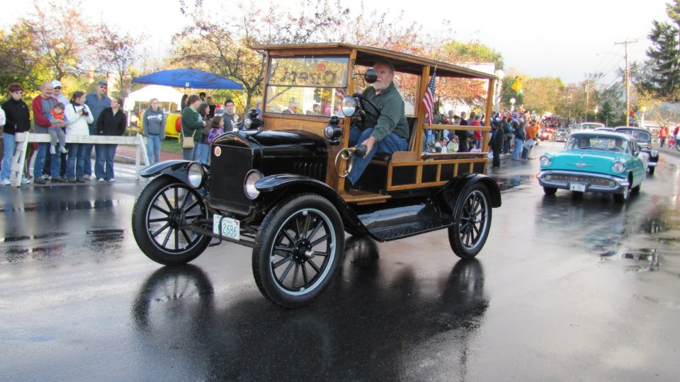 1917 Model T Ford Canopy Express Delivery