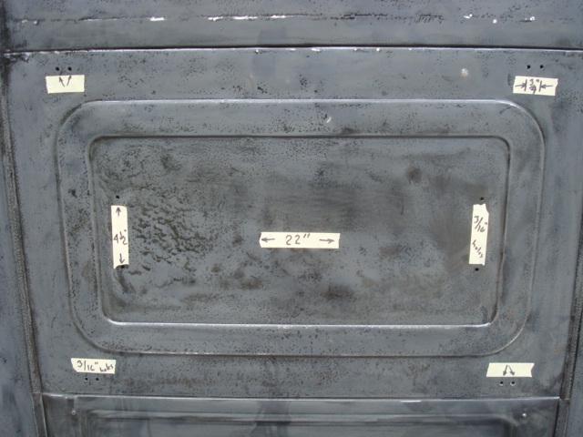 back cab panel