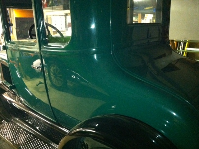 '26 Coupe with trunk lid installed.