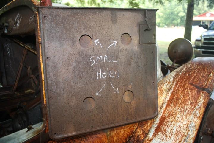 door holes