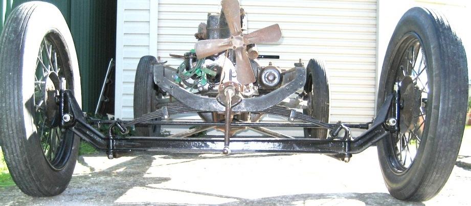 Mercury Axle
