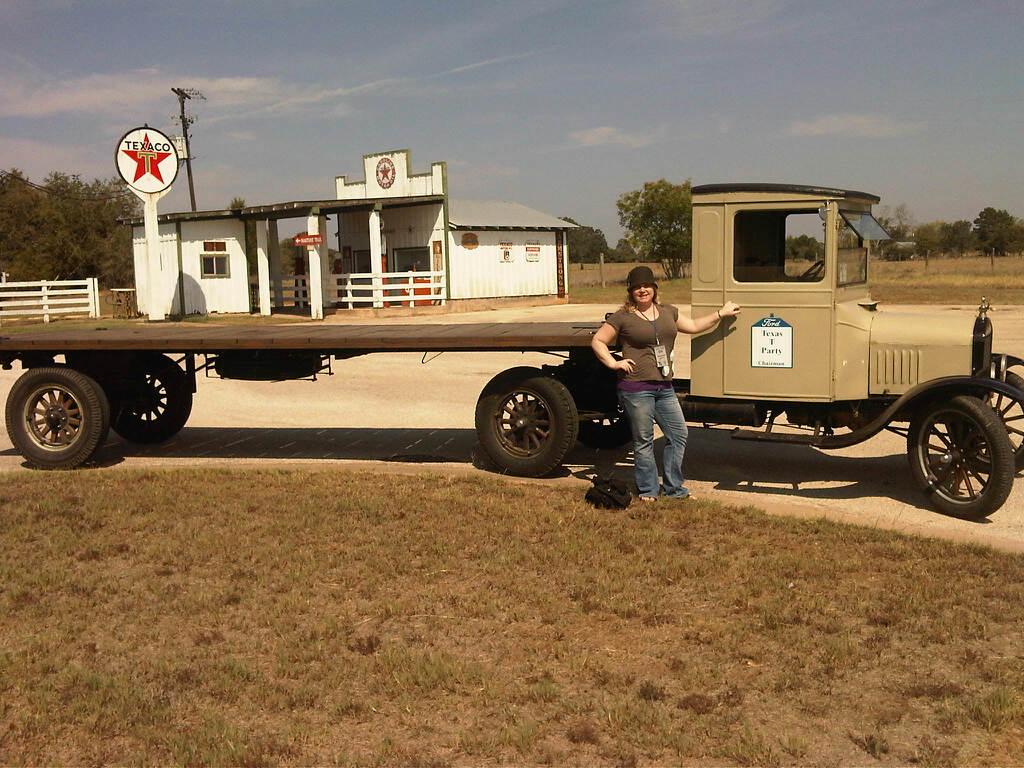 semi-truck with trailer