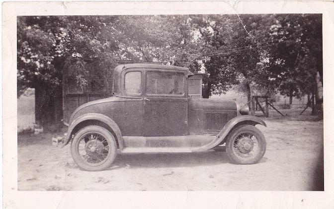 a photo of what i think was my grandpas old model t