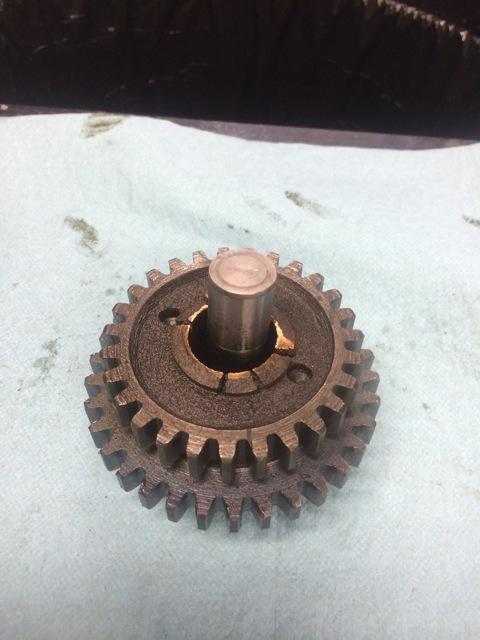 Used triple gear