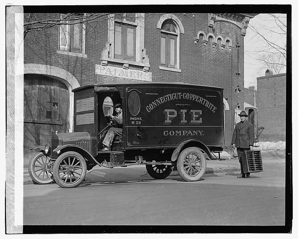 35th anniversary of the company picture of one of our 1919 Pie Trucks