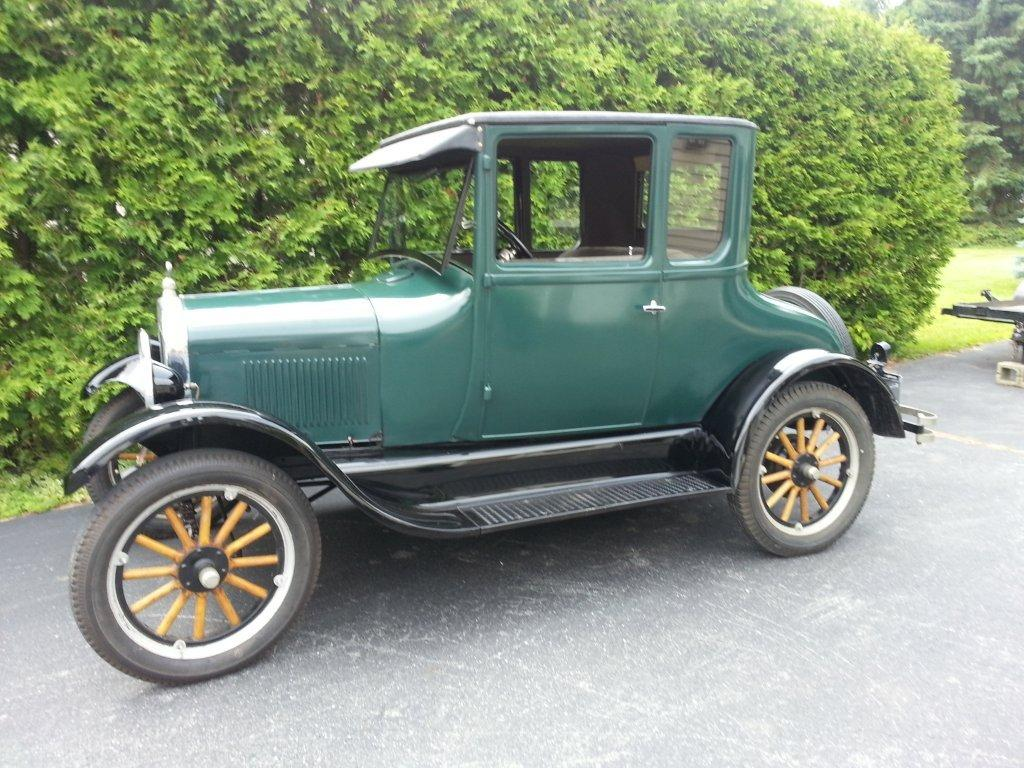 1926 Model T Ford Doctor's Coupe