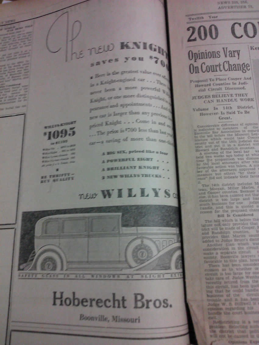Willys Automobile