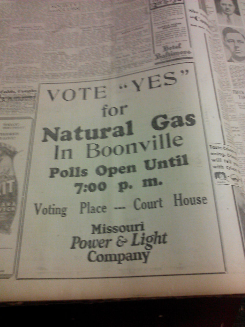 Vote YES on Natural Gas
