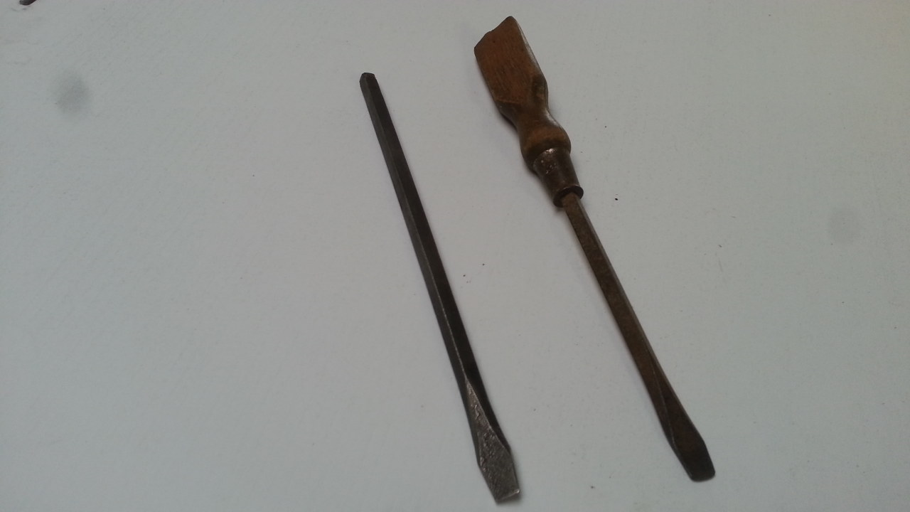 donor screwdriver and forged blade