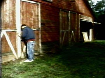 opening barn doors