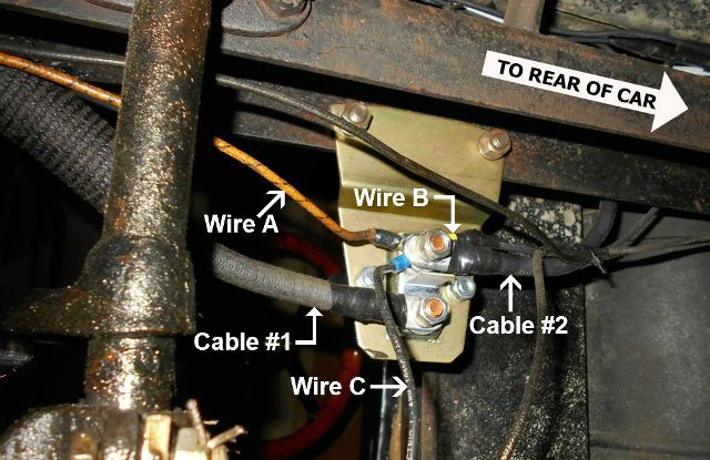 Model T Ford Forum: Connecting a Solenoid to the Starter Switch