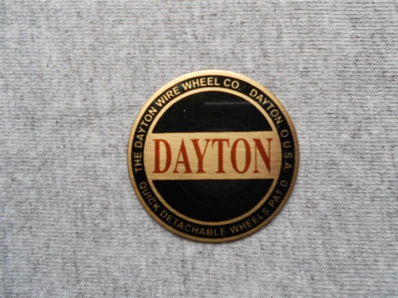 Dayton Wire Wheel Emblems