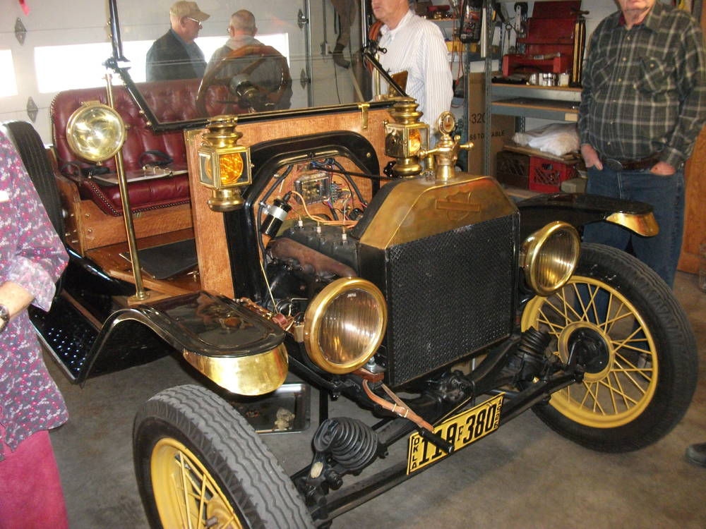 Privately owned model T. Enid Oklahoma
