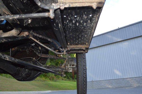 odd rear axle