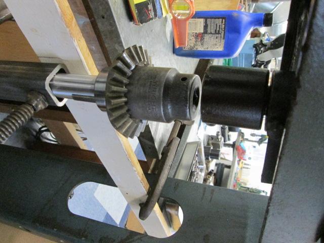 Axle Gear Press