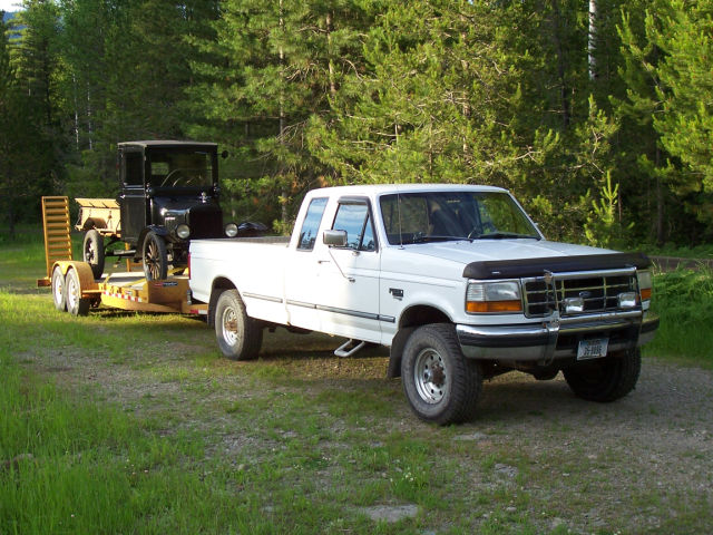 1997 ford f250 extended cab towing capacity