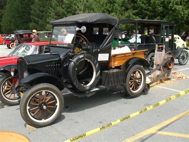Model T belt drive