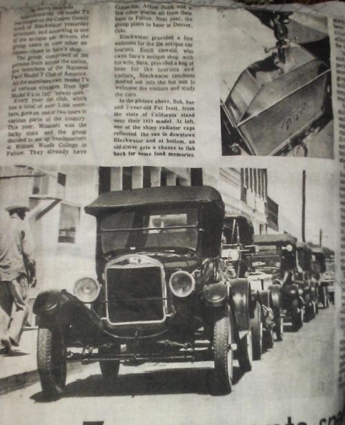 Model T Parade