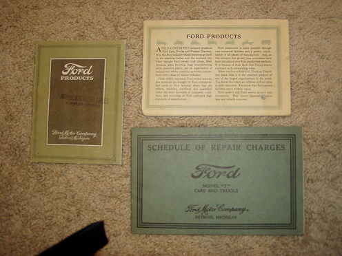 Original Ford manuals