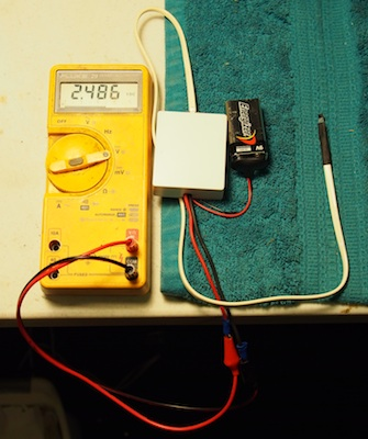 home made gauss meter