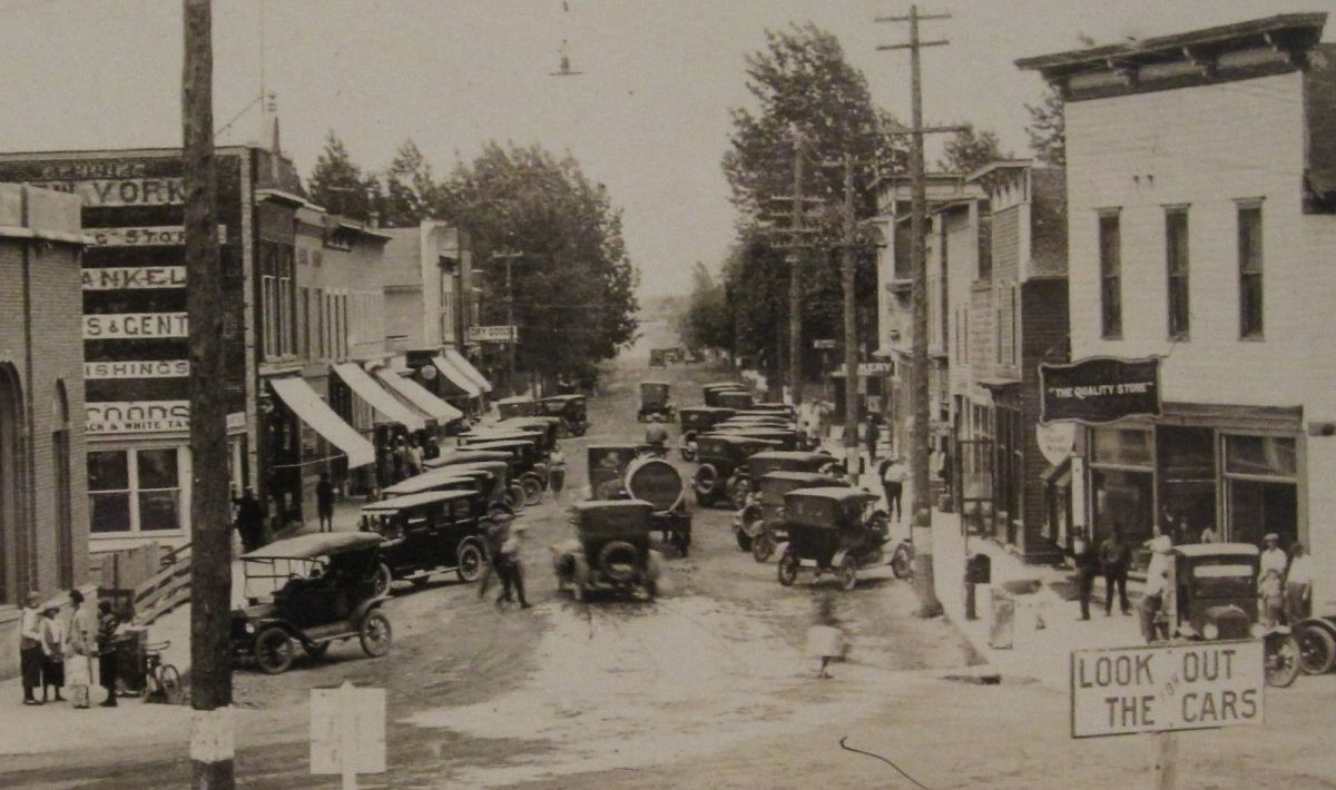 Eagle River Ford >> Model T Ford Forum Old Photo Eagle River Wi Busy Street Scene