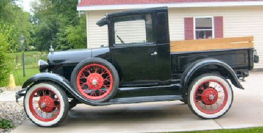 Model T Ford Forum 1927 Model T Closed Cab PICKUP