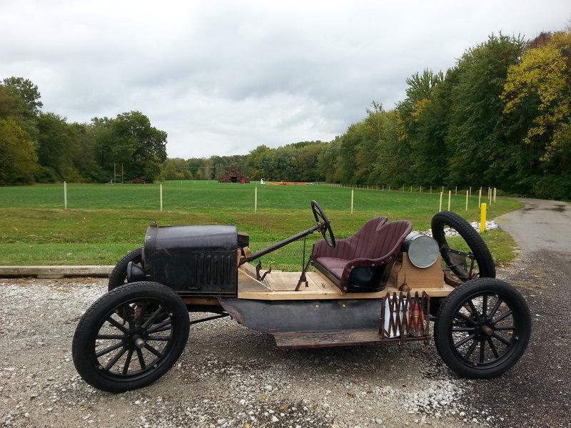 1923 Speedster with Bonfire