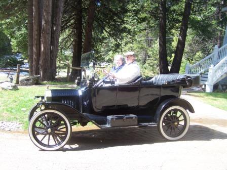 T tour in Yosemite