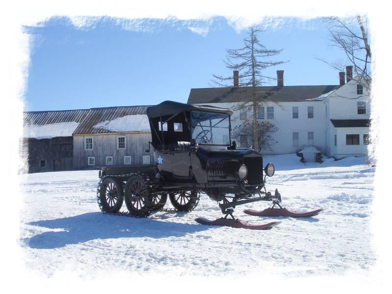 Model T Snowmobile Roadster
