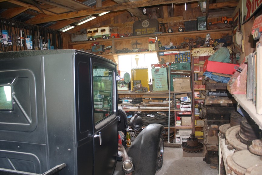 model A shed