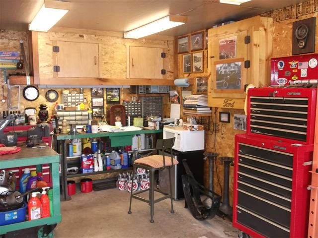 Hobby Garage model t ford forum let see your shop