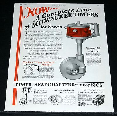 Milwaukee , Model T Accessory, Timing System