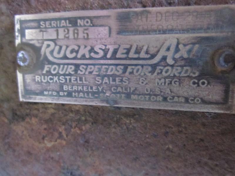 Ruckstell plate