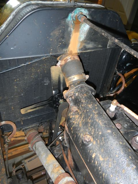 Rad Leak-support rod