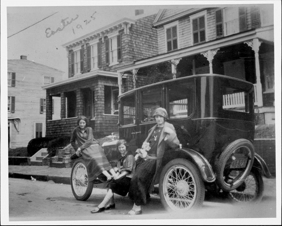 Model t fordor in Annapolis 1925