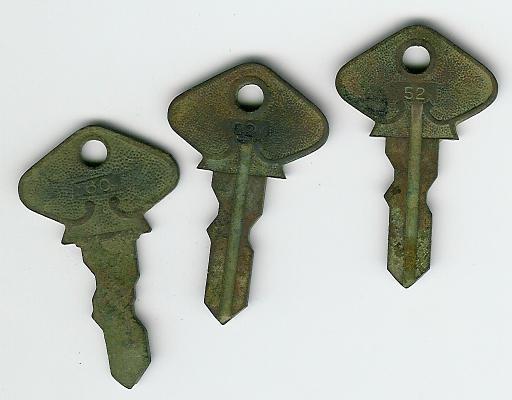 """#60, two #52 """"T"""" keys"""