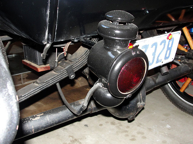 Model T Ford Forum Putting Oil In A Model T Tail Light