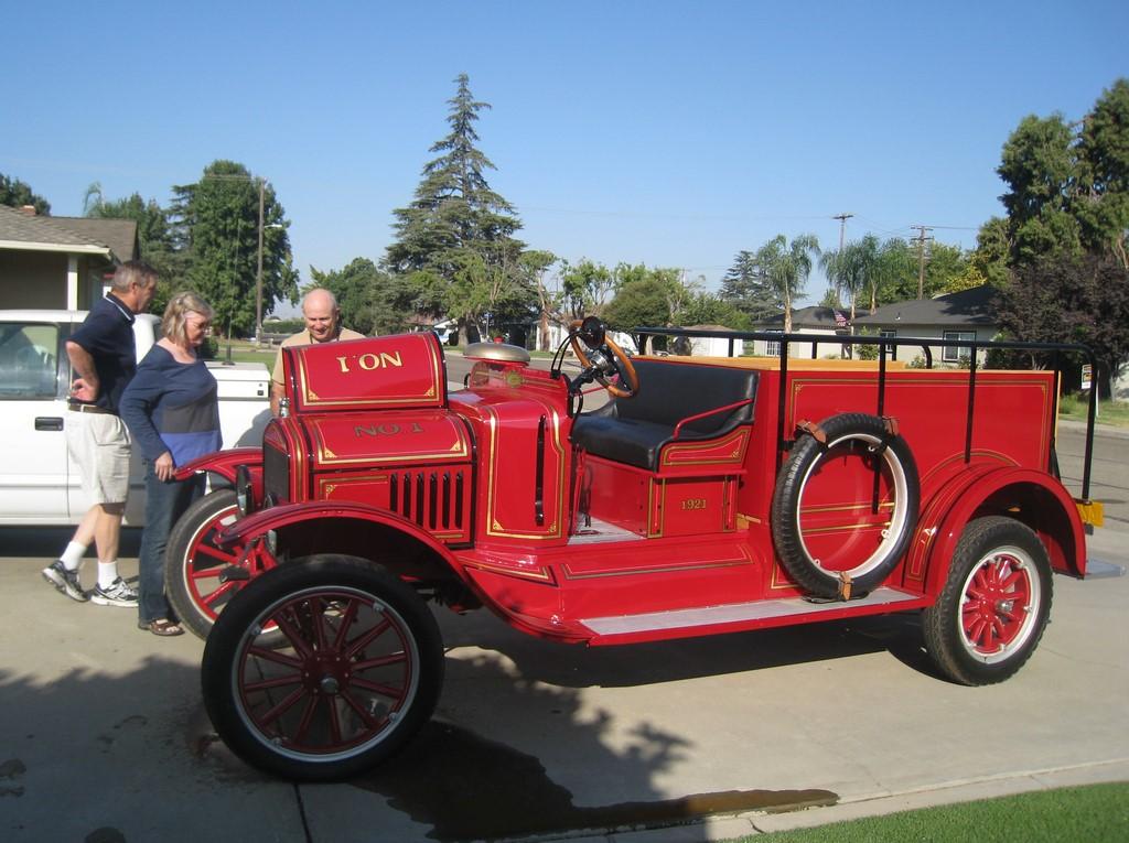 1921 TT Oberchain Firetruck