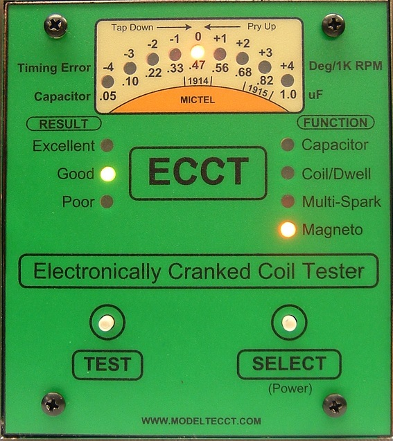 ECCT Magneto Testing